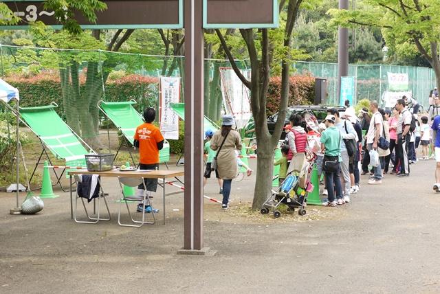早朝から多くのテニスファンがミラクルに集まってくれました。
